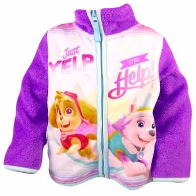 Hanorac polar pentru fete. Jachete de toamna