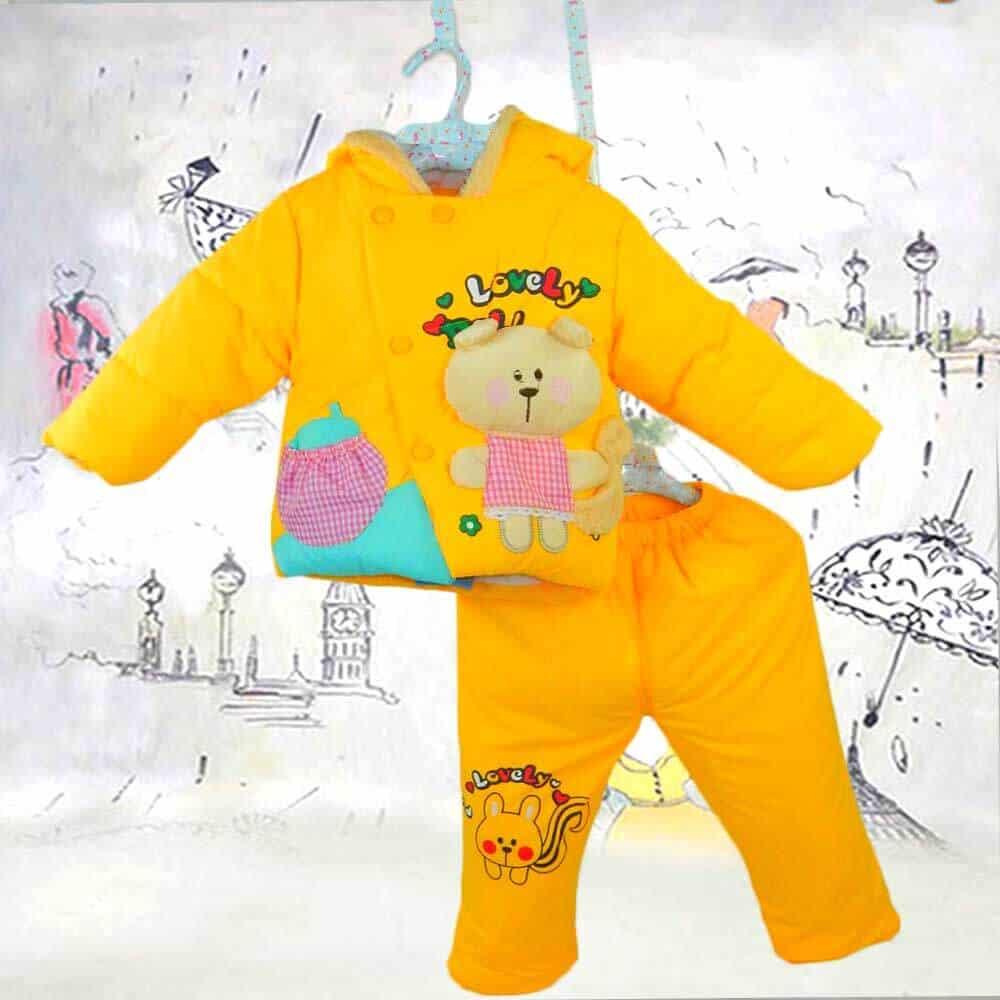 Haine de bebelusi. Costume groase de iarna