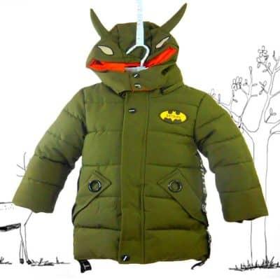 Alege haine de iarna pentru copii. Gecuta baieti groasa