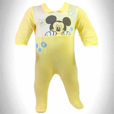 Haine pentru bebelusi. Salopeta bebe Mickey