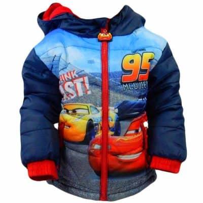 Haine de iarna pentru copii. Geci groase Cars