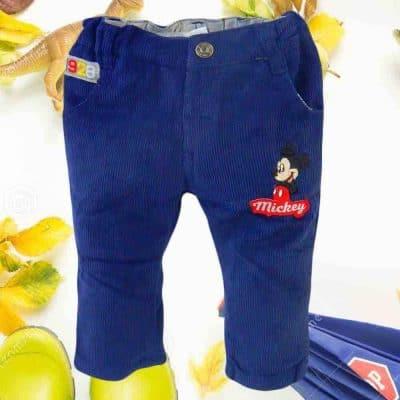 Pantaloni pentru bebelusi. Pantaloni bebe Mickey