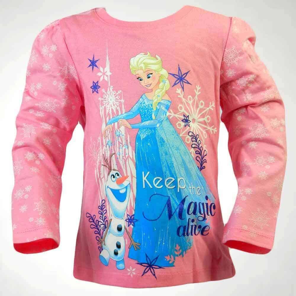 Haine pentru copii fete. Bluza Frozen