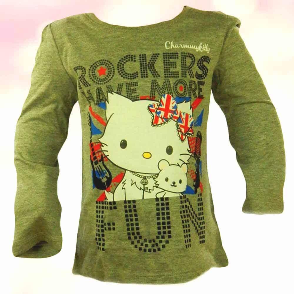 Haine ieftine fete-bluza-Hello Kitty