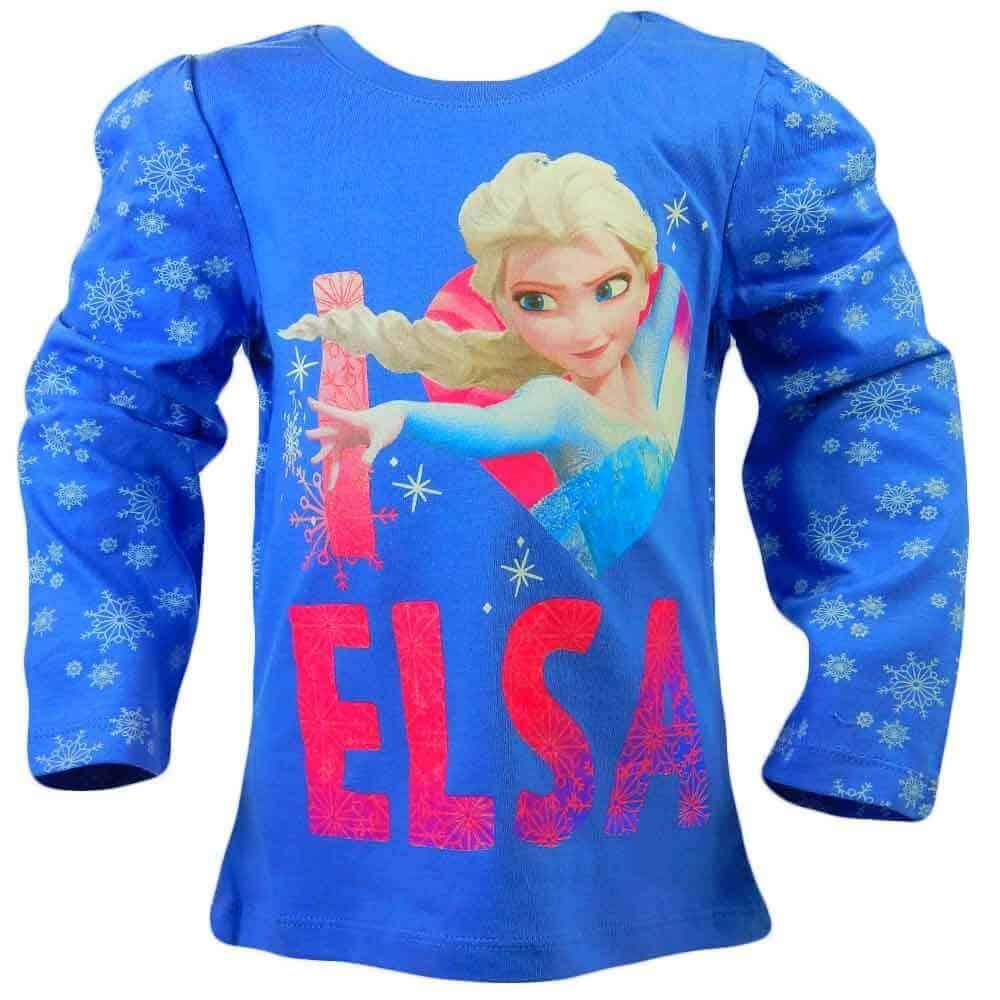 Hainute disney pentru fete. Bluza Frozen