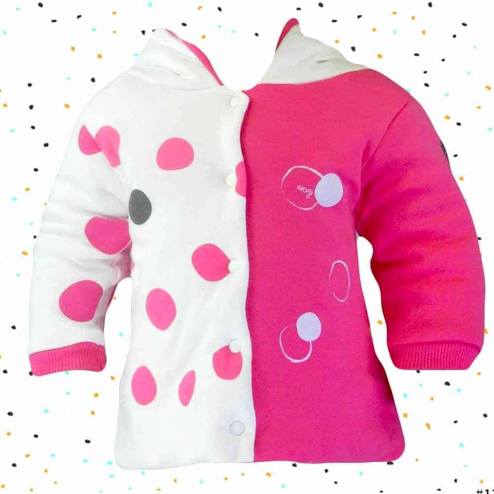 Hainute bebe. Geaca bebelusi fete roz