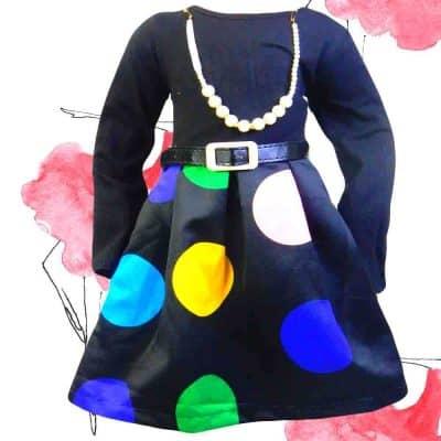 Rochie pentru fete – Buline