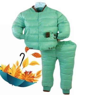 Alege haine pentru copii. Costum de fas gros