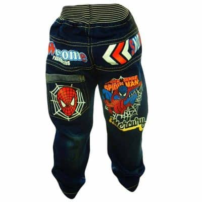 Haine de copii. Blugi baieti Spiderman