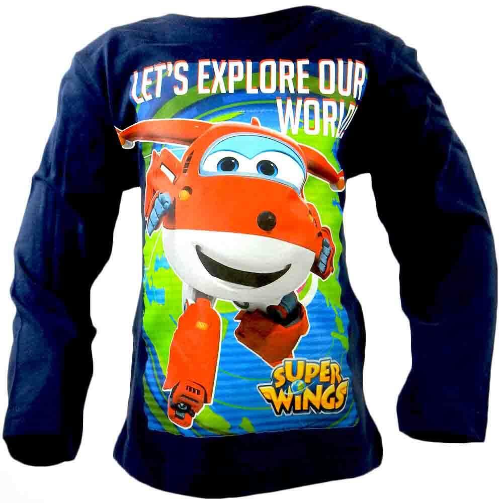 Bluza pentru baieti Super Wings