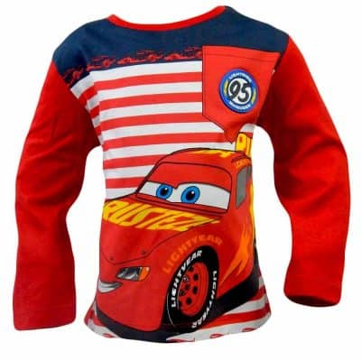 Hainute disney pentru copii. Bluze bumbac Cars