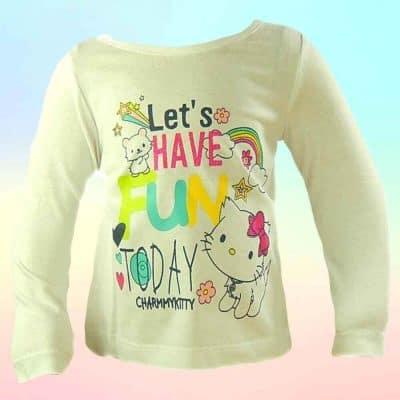 Bluza bebelusi fete Hello Kitty