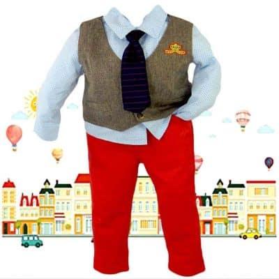 Alege haine de copii. Costum elegant baieti