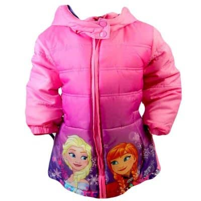 Haine pentru copii fete. Geaca iarna Frozen