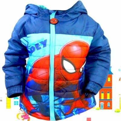 Haine pentru copii. Geaca Spiderman