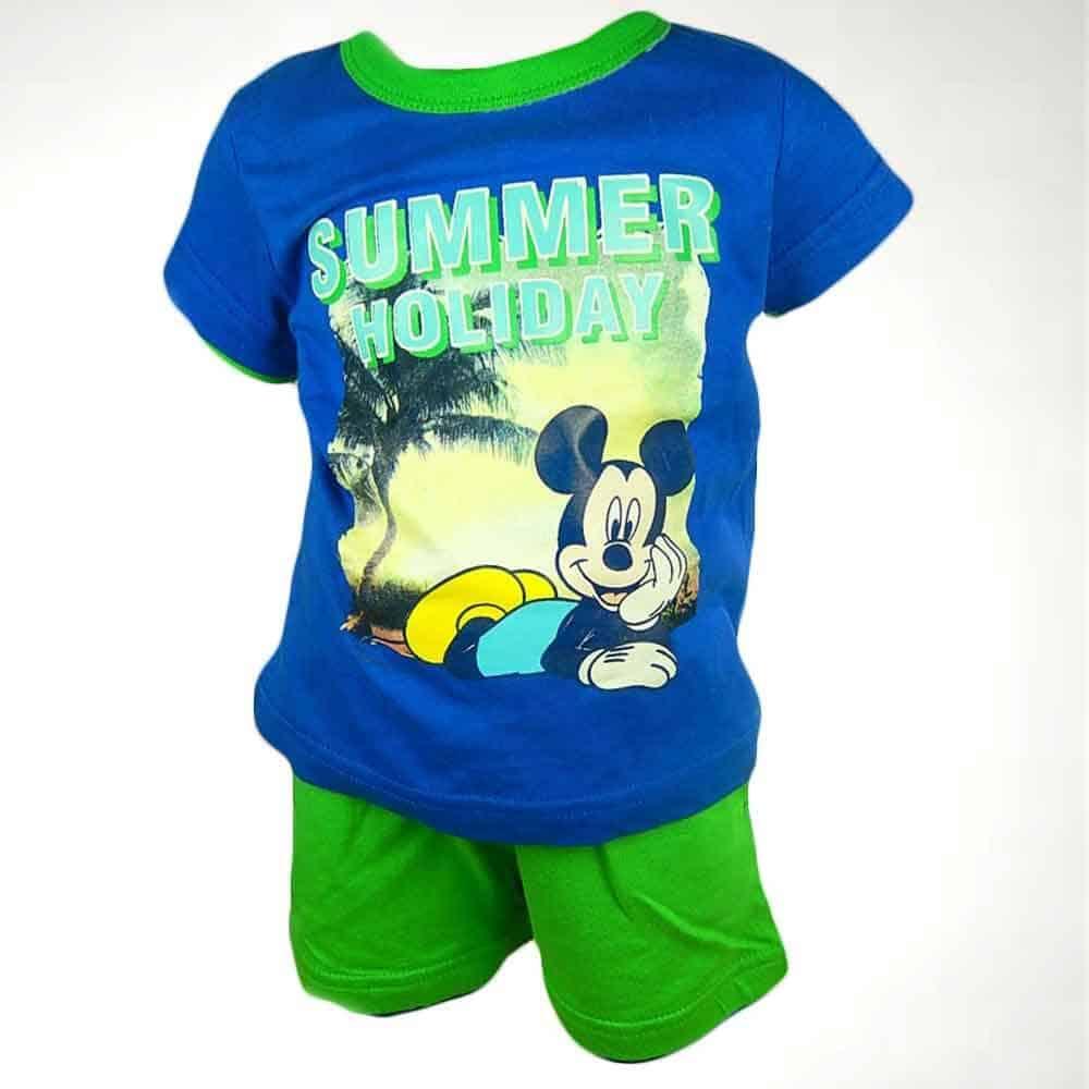 Alege imbracaminte bebelusi colorata, set Mickey