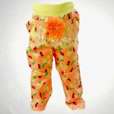 Pantaloni fete cu floricele ptr printesa ta