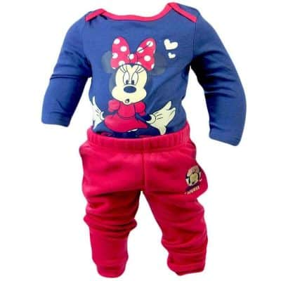 Haine bebe fete. Set Minnie Mouse