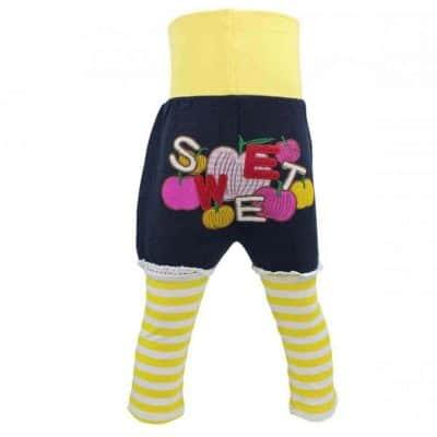 Haine pentru bebelusi fete. Colanti colorati