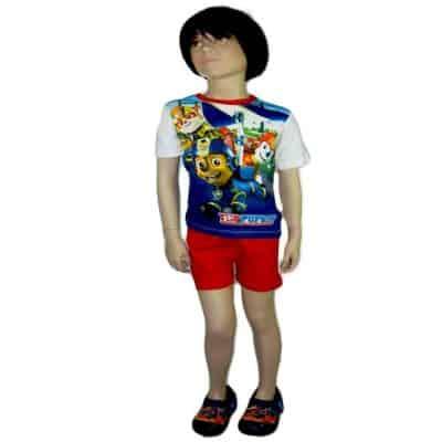 Alege haine de vara copii, set Paw Patrol