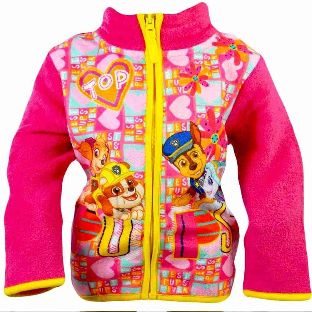Jacheta de toamna pentru fete. Hanorac polar