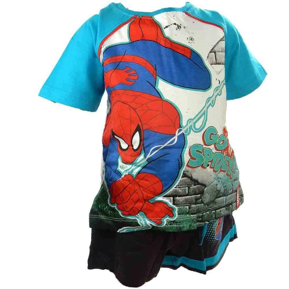 Haine copii. Compleu vara Spiderman