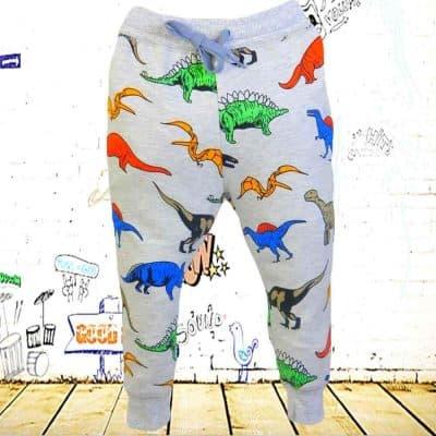 Pantaloni de copii. Pantaloni de trening Dino