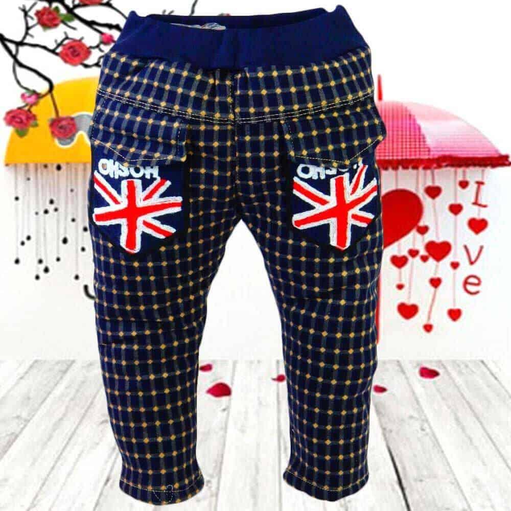Pantaloni grosi pentru copii. Pantaloni matlasati