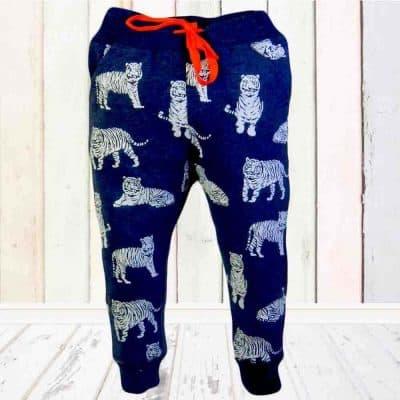 Pantaloni de copii. Pantaloni de trening Tigru