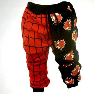 Haine pentru copii. Pantaloni baieti Spiderman