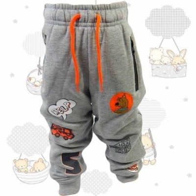 Pantaloni de trening grosi pentru copii