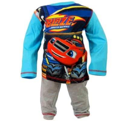 Pijamale copii disney, Blaze masinile Uriase