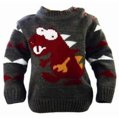 Pulover pentru bebelusi Dino