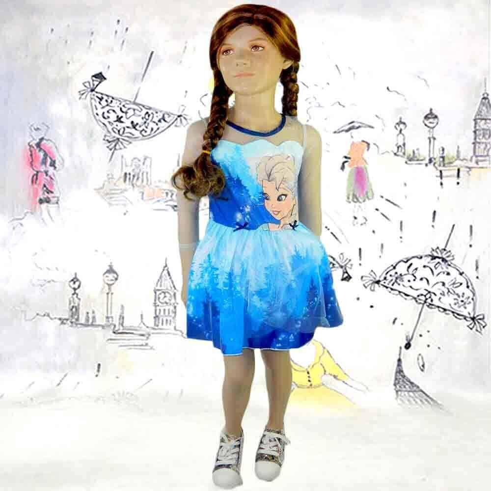 Rochii pentru fete. Rochita Frozen