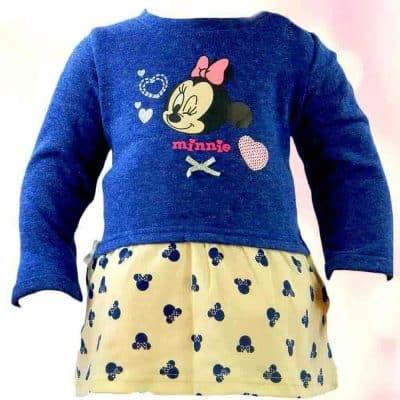 Rochie ptr fetite Minnie Mouse