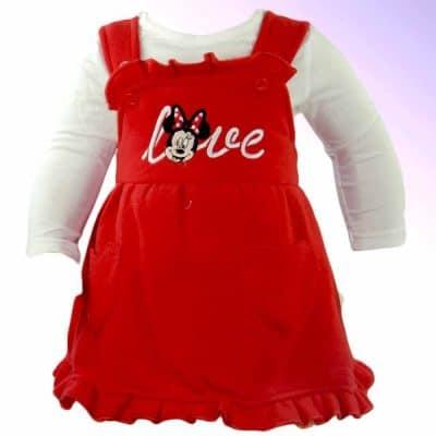 Haine pentru bebelusi fete. Sarafan si bluza