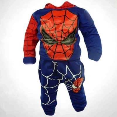 Trening bebelusi Spiderman albastru