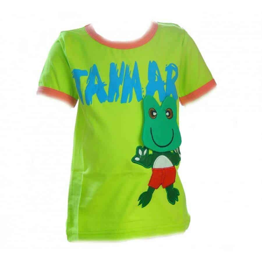 Tricouri online bebe. Tricou verde baieti