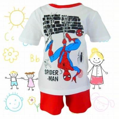 Haine copii – Compleuri de vara baieti Spiderman