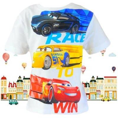 Alege haine copii. Tricou baieti cu Cars