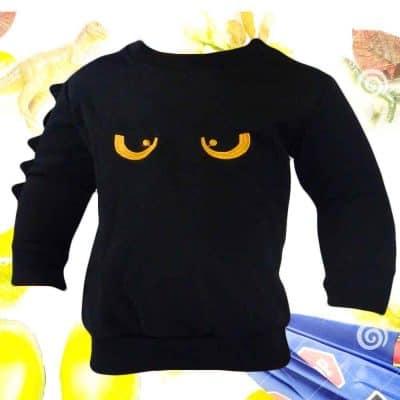 Alege haine ieftine. Bluza copii neagra