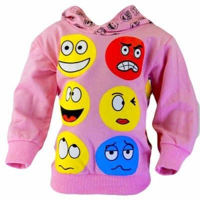 Alege haine ieftine. Bluza cu gluga pentru fete