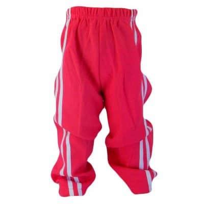 Haine ieftine. Pantaloni de trening fete roz