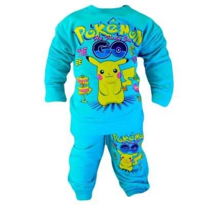 Haine ieftine copii. Set baieti cu Pokemon