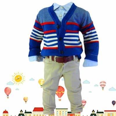 Haine pentru bebelusi. Costum elegant baieti