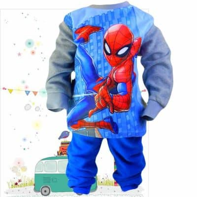 Haine pentru copii. Trening polar Spiderman