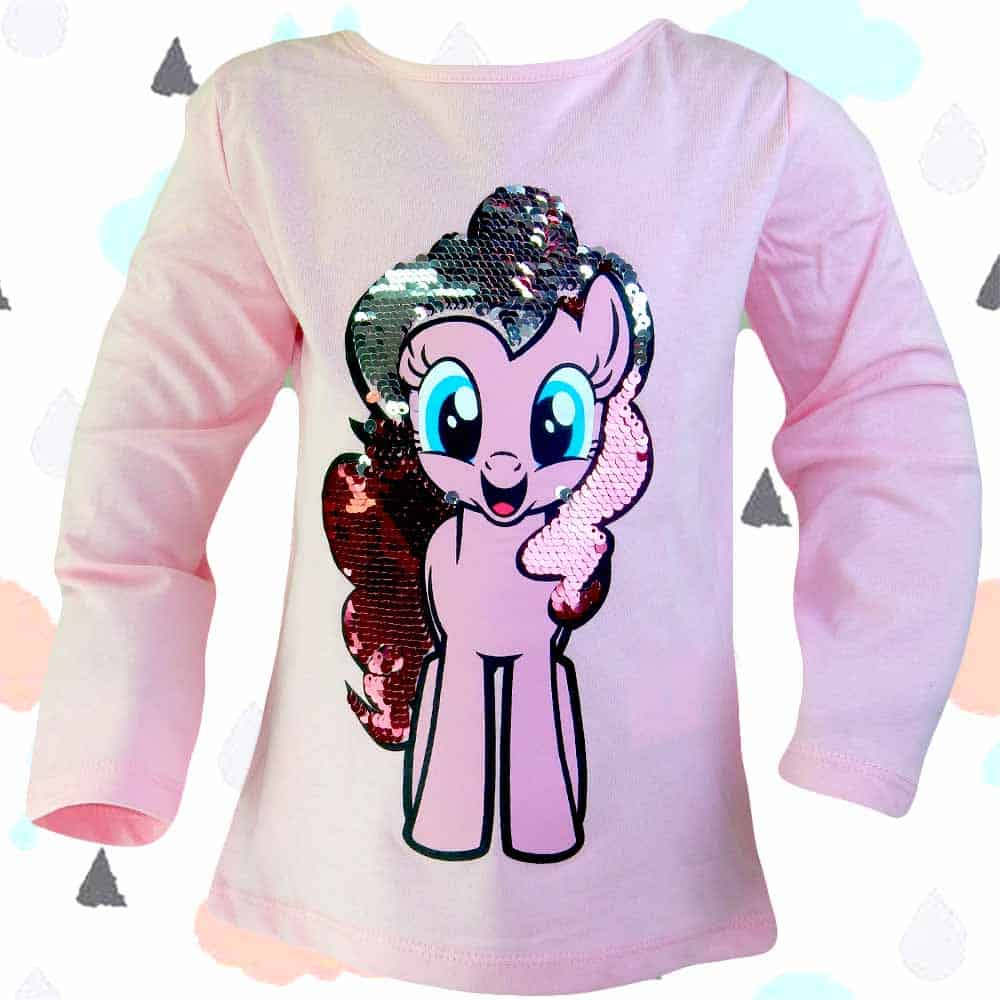 Alege bluza fetite cu Little Pony. Haine fete