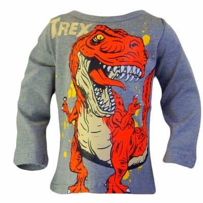 Bluza baieti cu dinozaurul T-REX