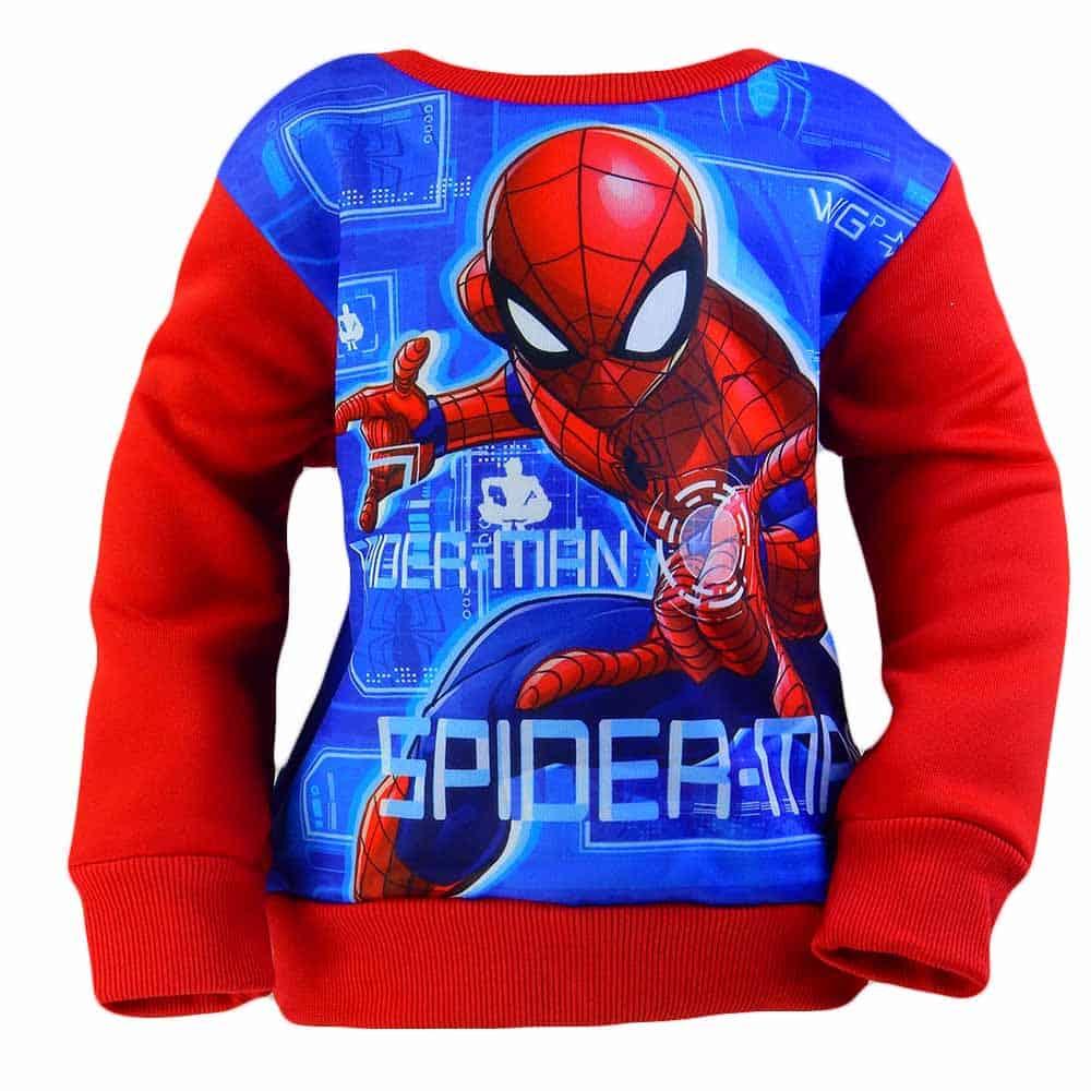 Bluze copii groase. Haine baieti cu Spiderman