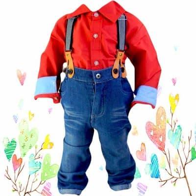 Haine copii online. Costum elegant pentru baieti